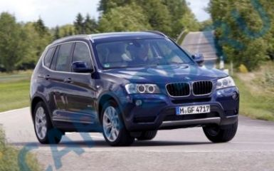 Предохранители и реле BMW X3 F25, 2010 - 2017