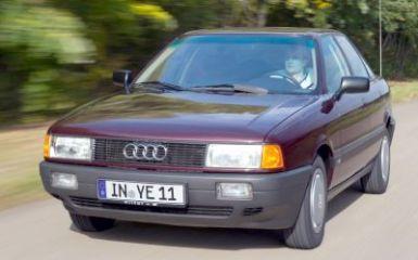 Предохранители и реле Audi 80 (B3), 1986 - 1991