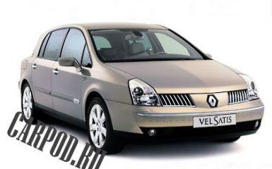 Предохранители и реле Renault Vel Satis (BJ), 2001 - 2009
