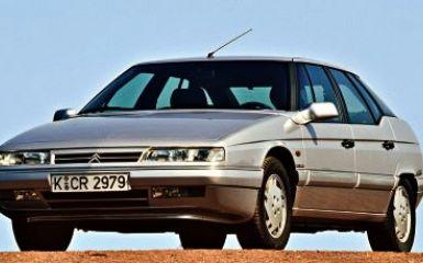 Предохранители и реле Citroen XM, 1989 - 2001