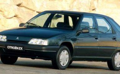 Предохранители Citroen ZX, 1991 - 1998