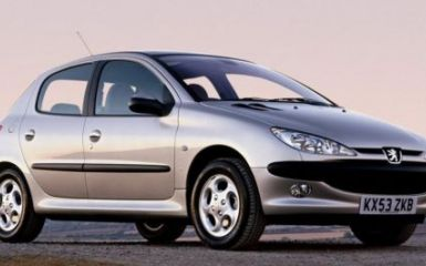 Предохранители Peugeot 206, 2002 - 2010