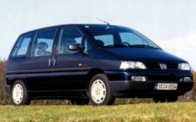 Предохранители и реле Peugeot 806 (221), 1994 - 2002