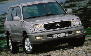 Предохранители и реле Toyota Land Cruiser 100, 1997 - 2002
