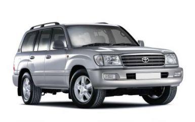Предохранители и реле Toyota Land Cruiser 100, 2002 - 2007