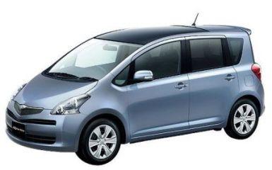 Предохранители и реле Toyota Ractis (P100), 2005 - 2010
