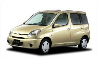 Предохранители и реле Toyota Funcargo (XP20), 1999 - 2007