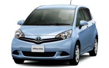 Предохранители и реле Toyota Ractis / Verso-S (P120), 2010 - 2018