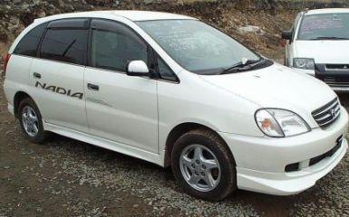 Предохранители и реле Toyota Nadia (XN10), 1998 - 2003